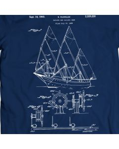 Rummler Sailboat 1943 T-Shirt
