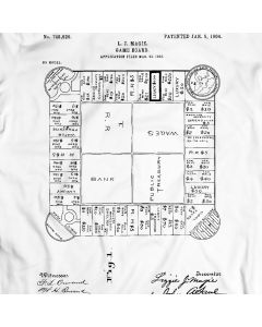 The Landlord's Game 1904 T-Shirt Monopoly History
