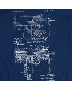 Uzi T-Shirt Open-bolt, Blowback Operated Submachine Guns Gift Idea