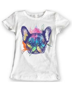 French Bulldog T-Shirts Watercolor 100% Cotton